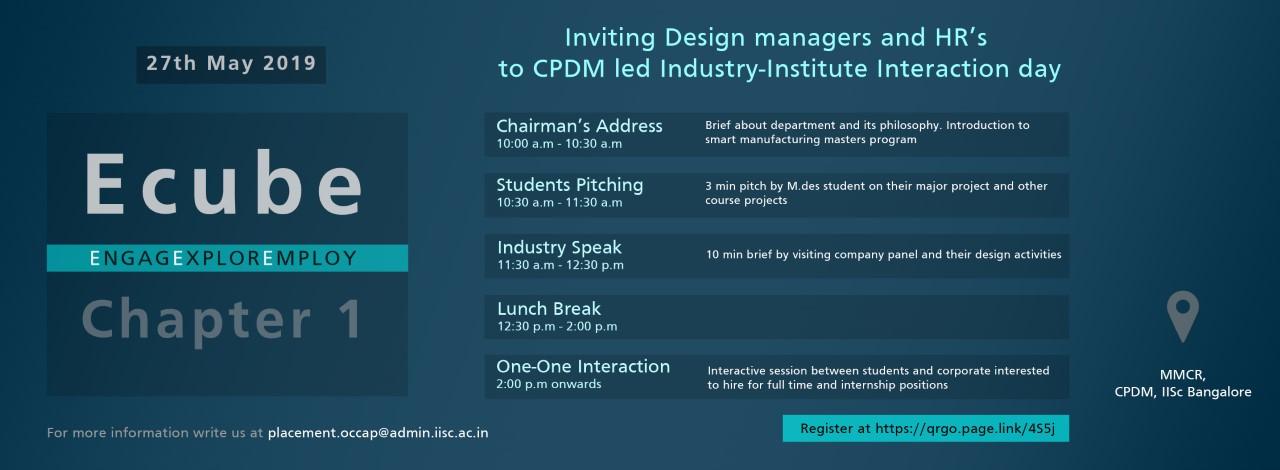 CPDM IISc